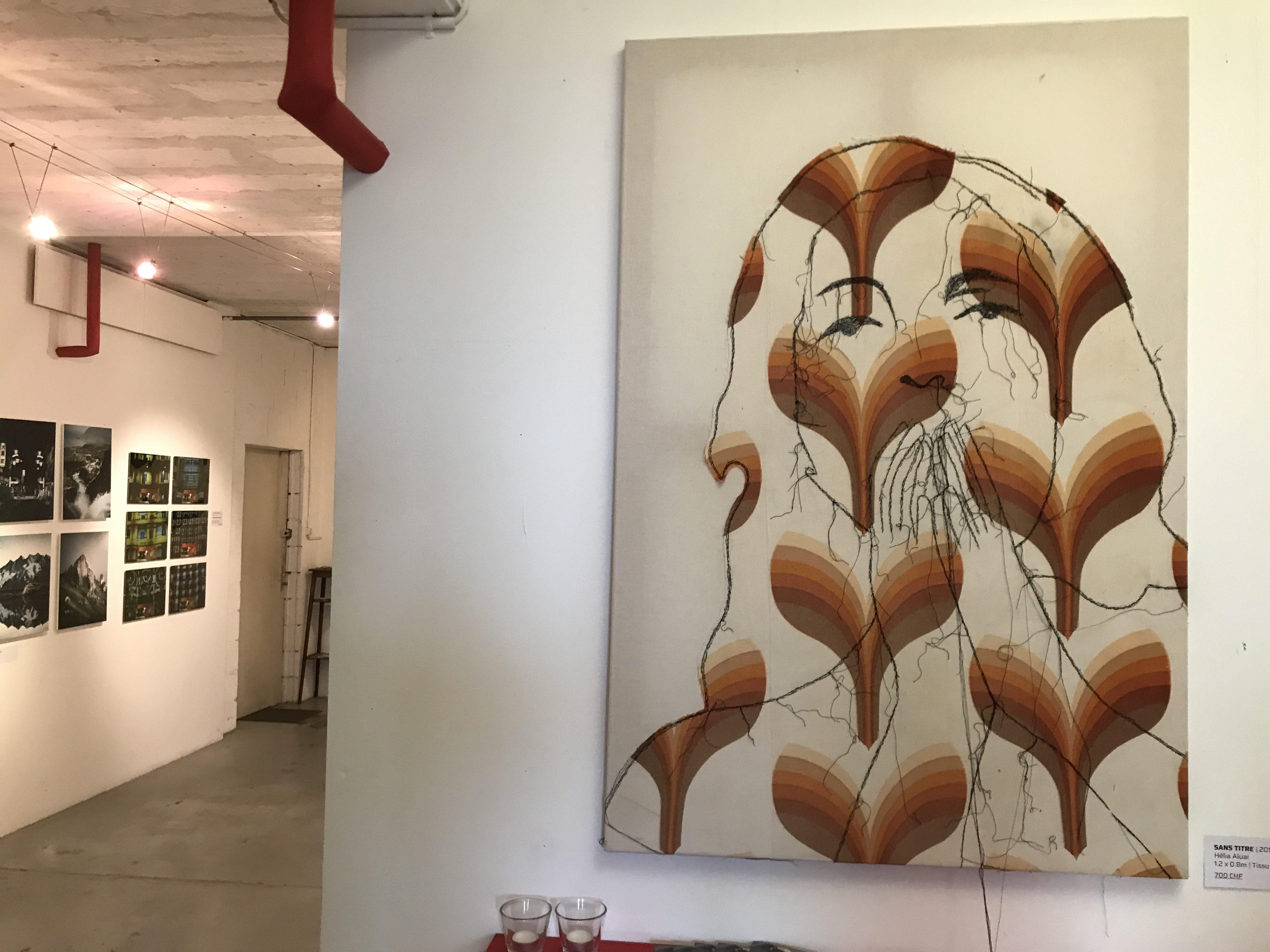 toile de Hélia Aluai