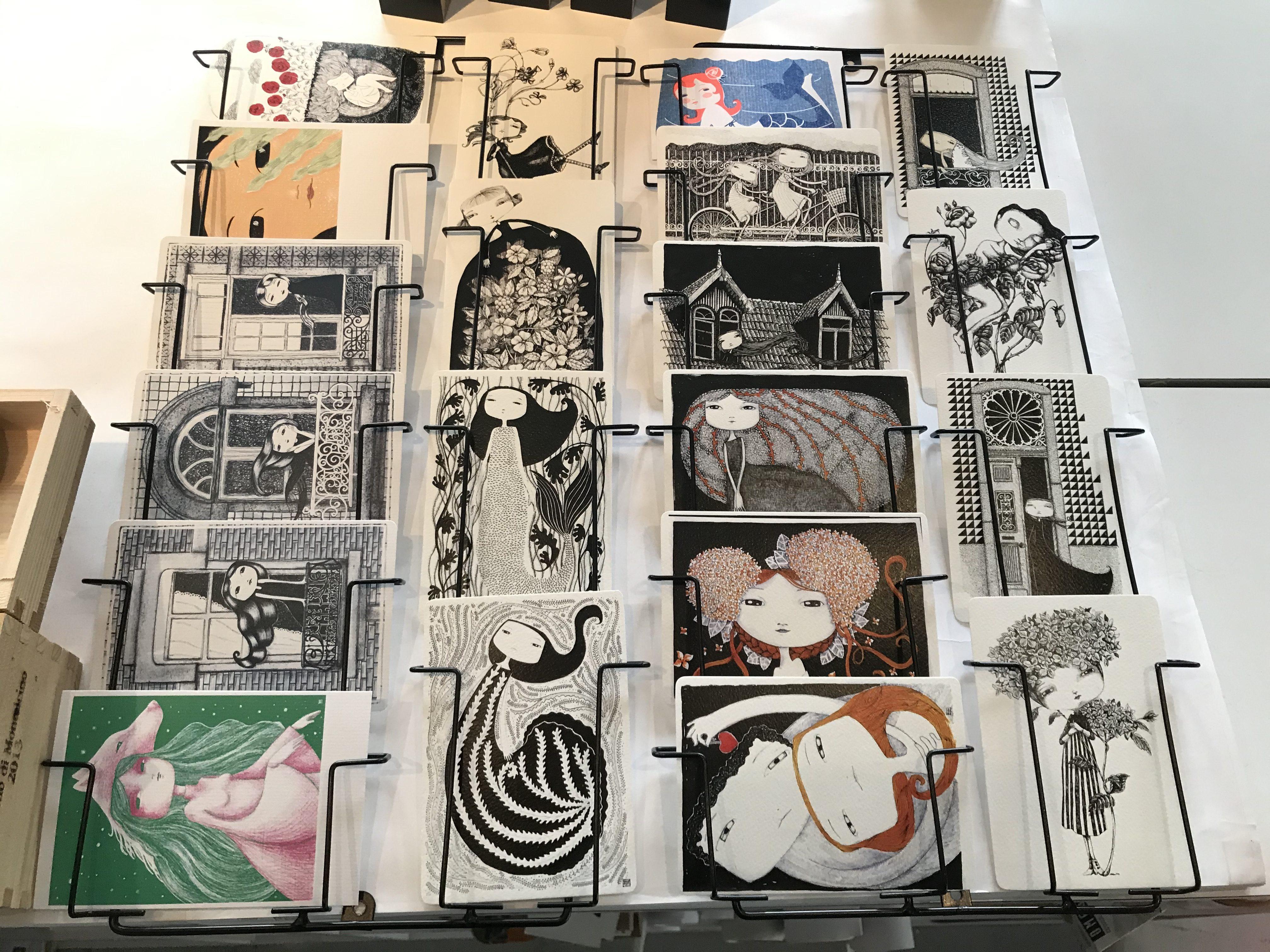 cartes postales de Hélia Aluai